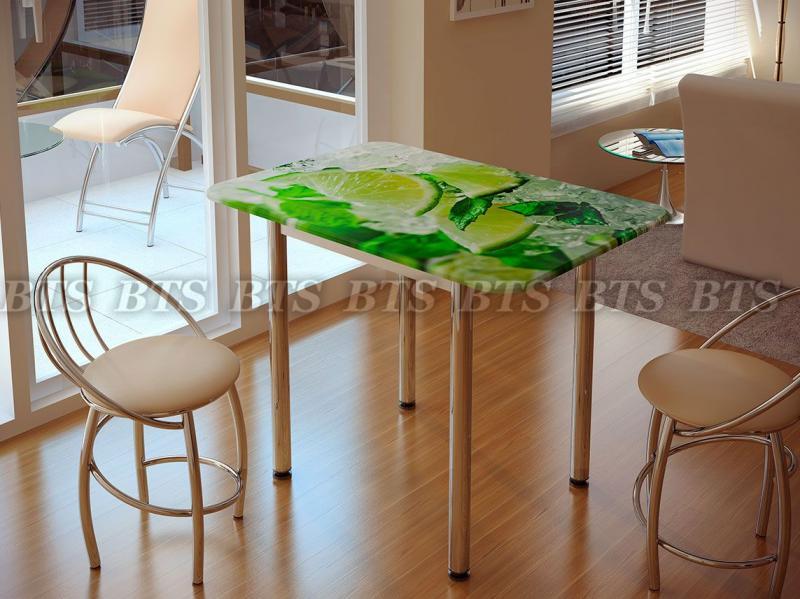 Фото Обеденные столы Стол обеденный с принтом (БТС)