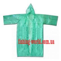 Фото Одежда для рыбаков и охотников, Дождевики (плащи, костюмы) Плащ рыбацкий (на кнопках)