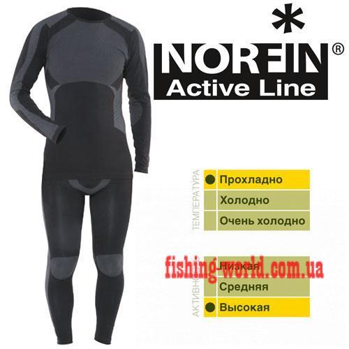 Фото Одежда для рыбаков и охотников, Термобелье Термобелье Norfin Active Line