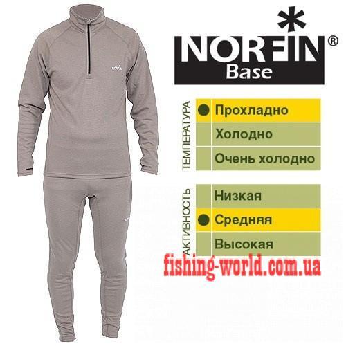 Фото Одежда для рыбаков и охотников, Термобелье Термобелье Norfin Base