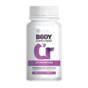 Body Compliment ХромЛипаза(Регулятор вуглеводного обміну)