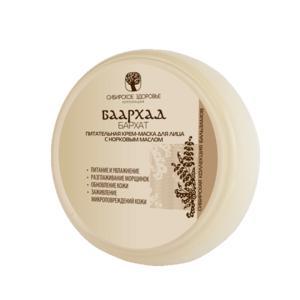 Фото Догляд за шкірою Баархад - Бархат(Поживна крем-маска для обличчя з норковим маслом)