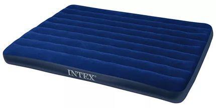 Матрас 2 двухместный надувной  Intex Classic Downy 152х203х22 см.
