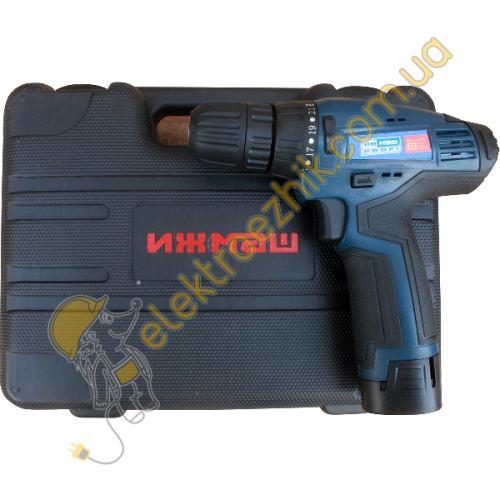 Аккумуляторный шуруповерт Ижмаш Профи ИША-12LiS