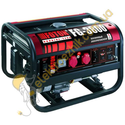 Бензиновый генератор Foton FG-3800Е