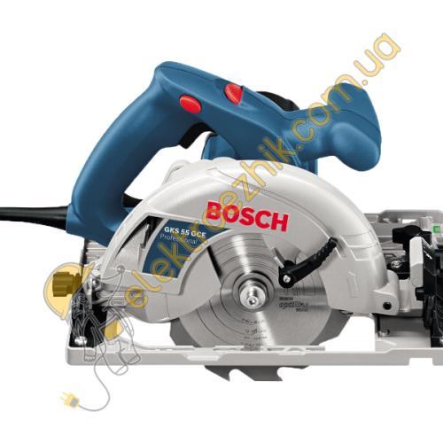 Дисковая пила Bosch GKS-55GCE