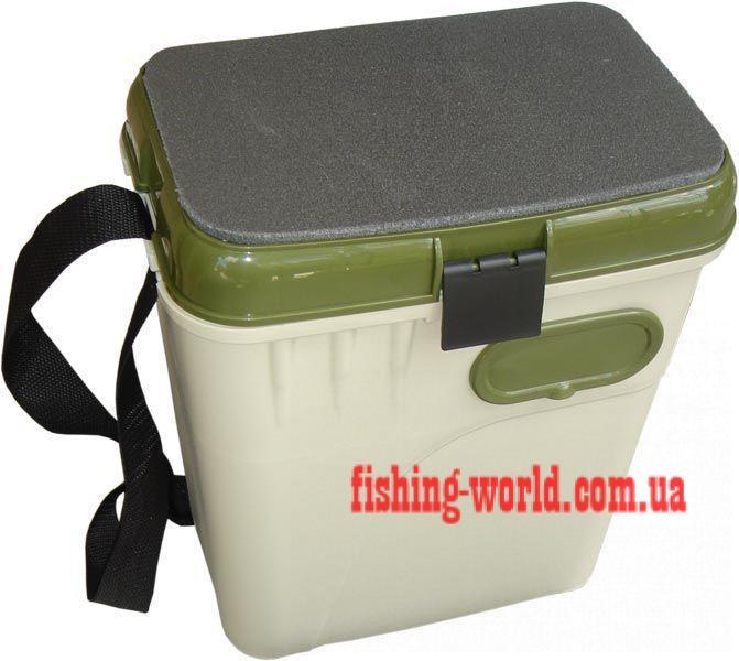 Фото Зимняя рыбалка, Зимние ящики, сани Ящик зимний Adams