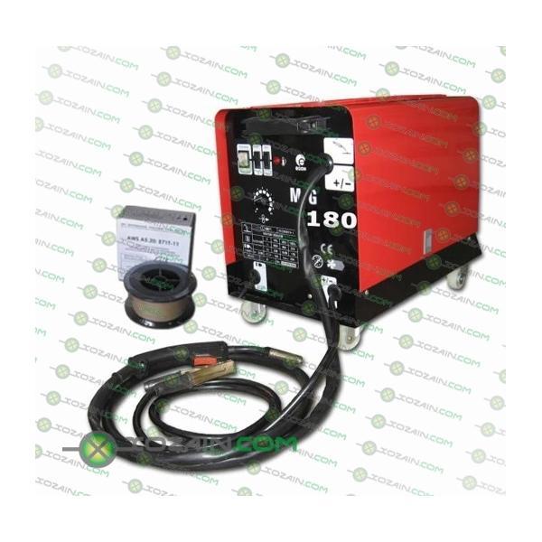 Инверторный сварочный полуавтомат Эдон MIG-180