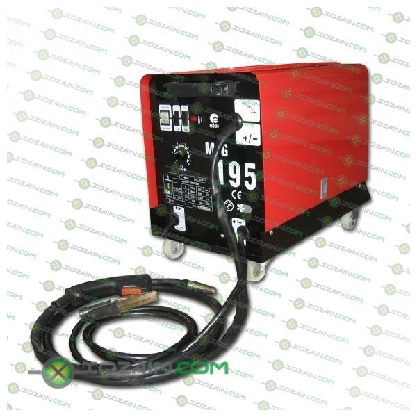 Трансформаторный сварочный полуавтомат Эдон MIG-195