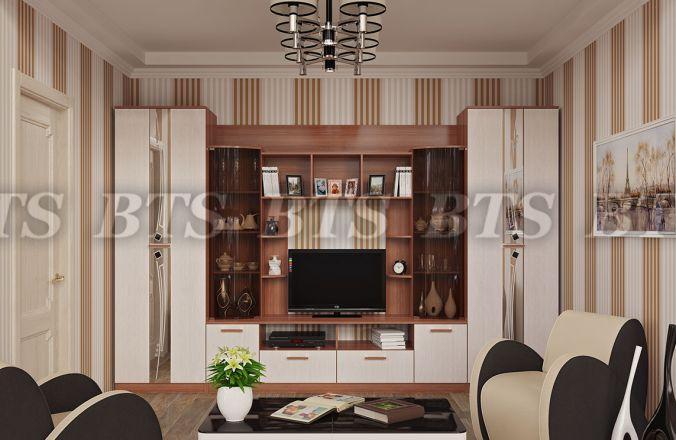 Фото Стенки и мебель для гостиной  Гостиная Венеция (БТС)