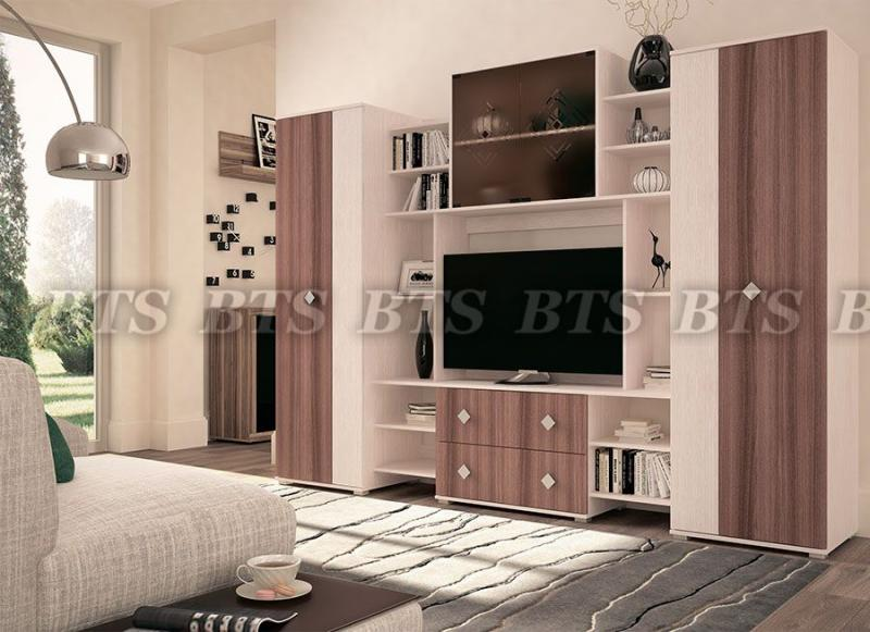 Фото Стенки и мебель для гостиной  Гостиная Эстель (BTS МЕБЕЛЬ)