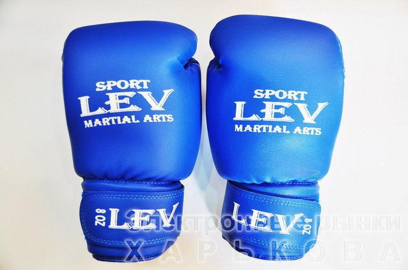 """Перчатки боксерские """"LEV"""" - Перчатки для бокса и единоборств на рынке Барабашова"""
