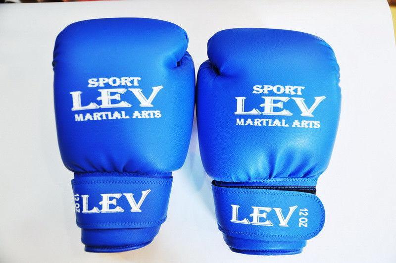 Перчатки боксерские 12 унций.Лев.