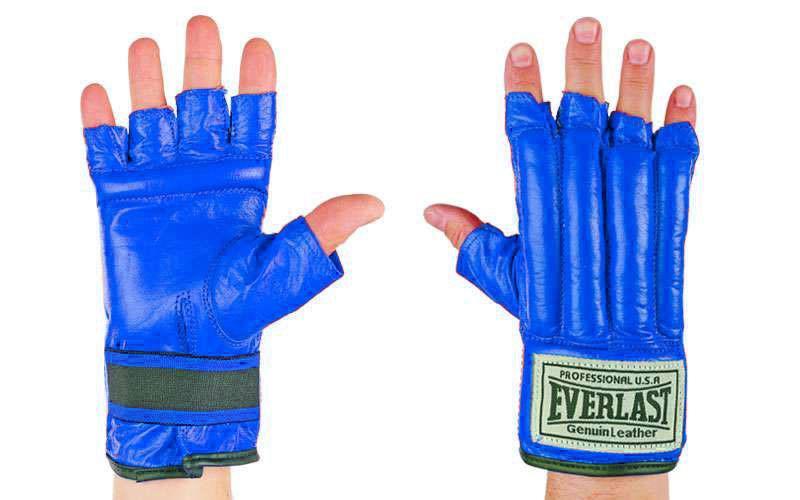Перчатки снарядные Everlast.Кожа.
