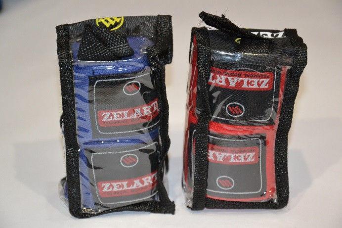 Бинты боксерские (2шт) Х-б ZEL ZB (l-3м, красный, синий, черный)