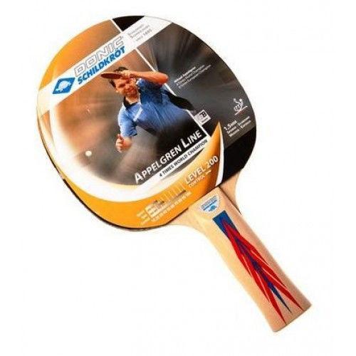 Набор для наст. тенниса DONIC (4рак+3шар+сетка+PVC чехол) МТ-788630 APPELGREN 300 (древ,рез,плас,NY)