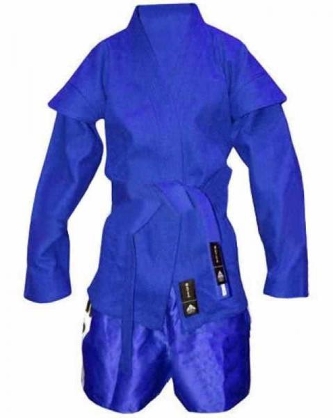 Кимоно самбо-самбовка синее,красное