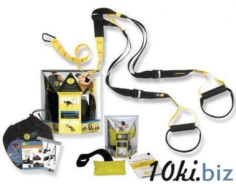 Подвесные петли TRX KIT (функцион.петли,дверное крепл,DVD,инструкц, сумка) купить в Харькове - Лямки, петли атлетические и напульсники