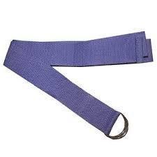 Ремень для йоги (нейлон, металл, р-р 172*3,8 см,цена за 1 шт)