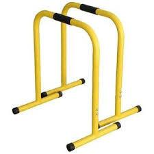 Эквалайзер для кроссфита (2шт) QT1018 EQUALIZER (металл, р-р 58*40*70см, желтый)