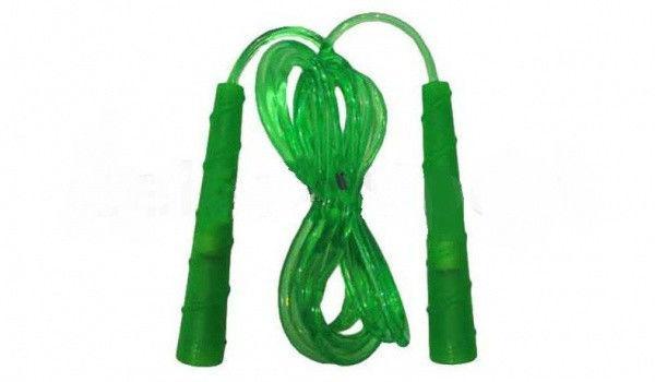 Скакалка (резина, пластик, l-2,55м с ручками)