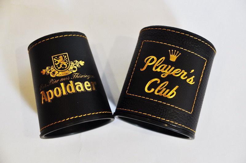 _Стаканчик для игр  Apoldaer (PVC, h-9см, d основания-7,3см)