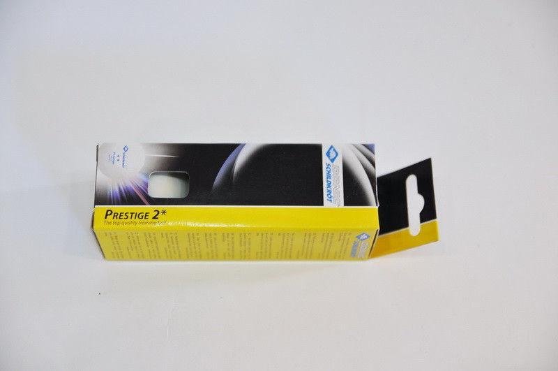 Шарики для настольного тенниса (3шт) DONIC  PRESTIGE 2star (пластик, d-40мм, белые)