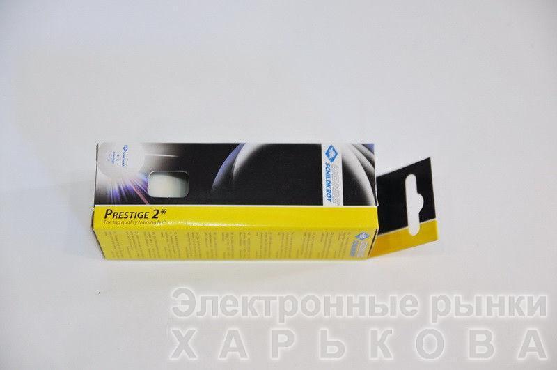 Шарики для настольного тенниса (3шт) DONIC  PRESTIGE 2star (пластик, d-40мм, белые) - Мячи, шары для настольного тенниса на рынке Барабашова