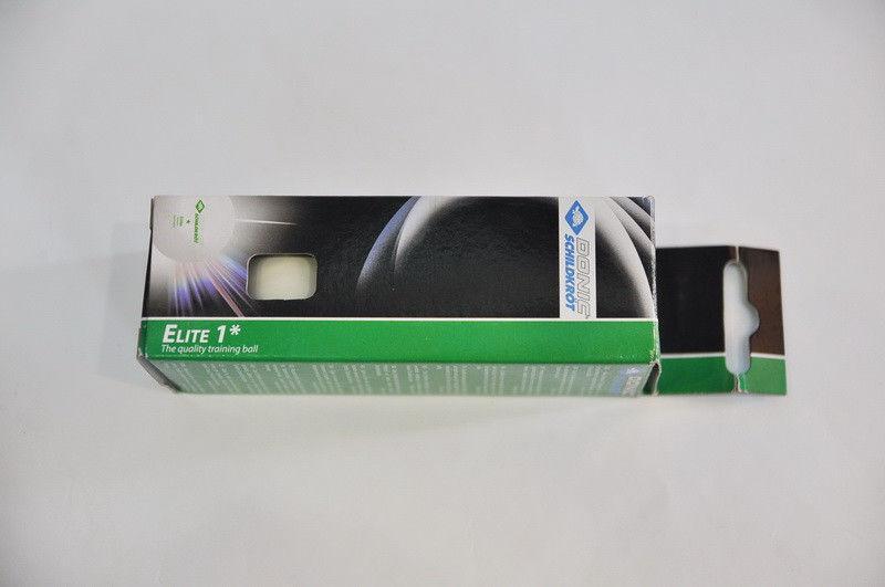 Шарики для настольного тенниса (3шт) DONIC  ELITE (пластик, d-40мм, белые)