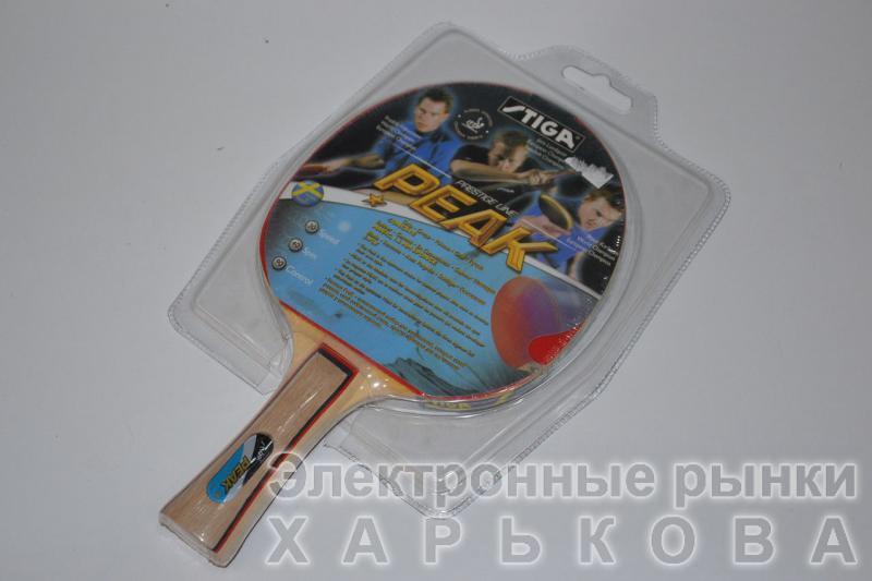 Ракетка для настольного тенниса Stiga Peak - Мячи, шары для настольного тенниса на рынке Барабашова