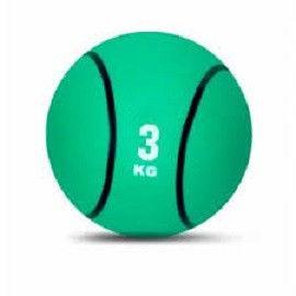 Мяч медицинский (медбол)  5кг (верх-резина, наполнитель-песок, d-20см, черный)