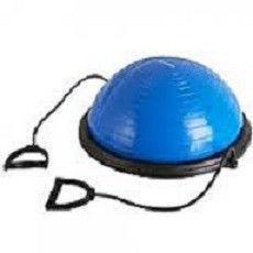 BOSU балансировочная платформа (пласт,резина,h-30см,d-58см,4500гр,2 эсп.l-48см,ручка неопр)