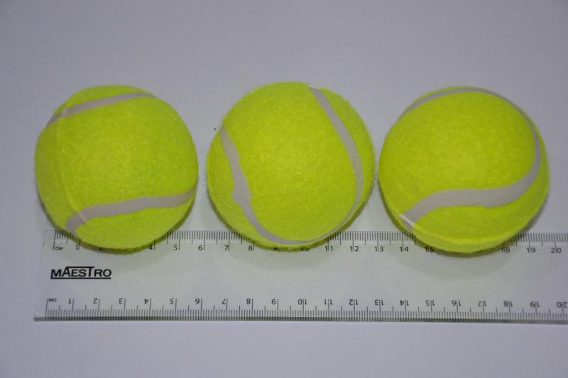 Мяч для б/т (3 шт. в пакете), 1 сорт.