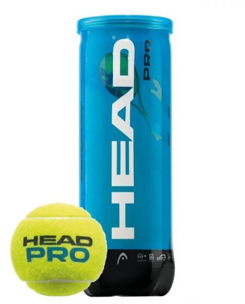 Мяч для большого тенниса HEAD (3шт)  PRO CAN (в вакуумной упаковке)
