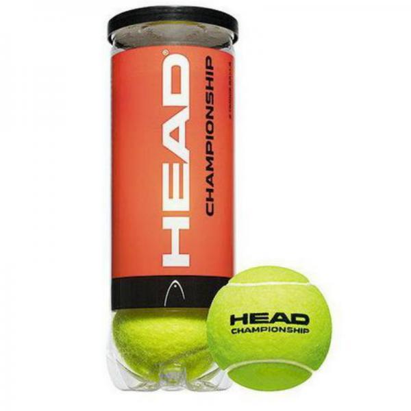 Мяч для большого тенниса HEAD (3шт)HED-CHAMPIONSHIP (в вакуумной упаковке)