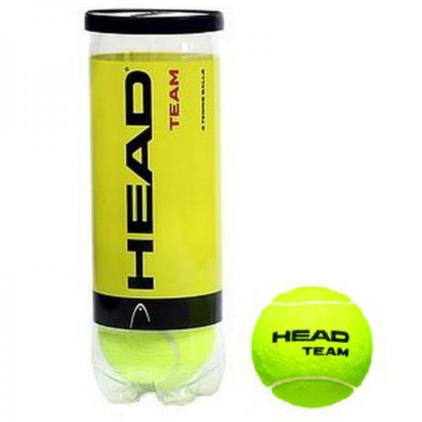 Мяч для большого тенниса HEAD (3шт)  TEAM (в вакуумной упаковке)