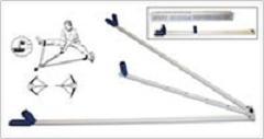 Тренажер для растяжки ног (металл, L1=112 см, L2=70 см)