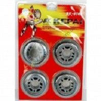 Колеса для роликов (4шт) KEPAI 0700 (колесо PU, р-р 70*24мм, без подшипников)