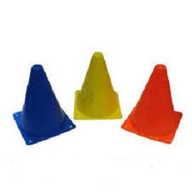 Фишка спорт. Конус 18см  (пластик мягкий, h-18см, цвет в ассортименте)