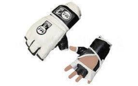 """Перчатки для смешанных единоборств MMA Кожа """"GRANT"""""""