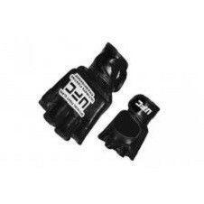Перчатки для смешанных единоборств MMA Кожа MATSA  (р-р M L XL, синие черные)