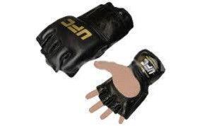 """Перчатки для смешанных единоборств MMA Кожа """"UFC"""""""