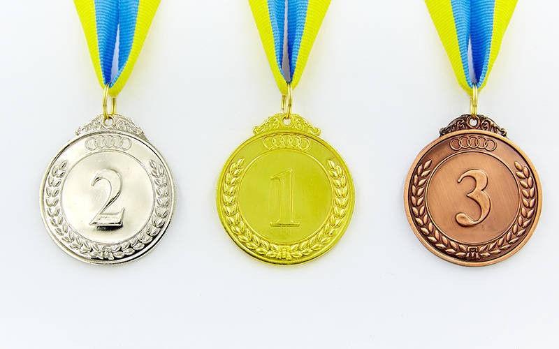 Медаль спортивная d-5 см (1,2,3 место) 27g