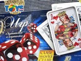 Игра Кубики и карты (20 игр в 1)
