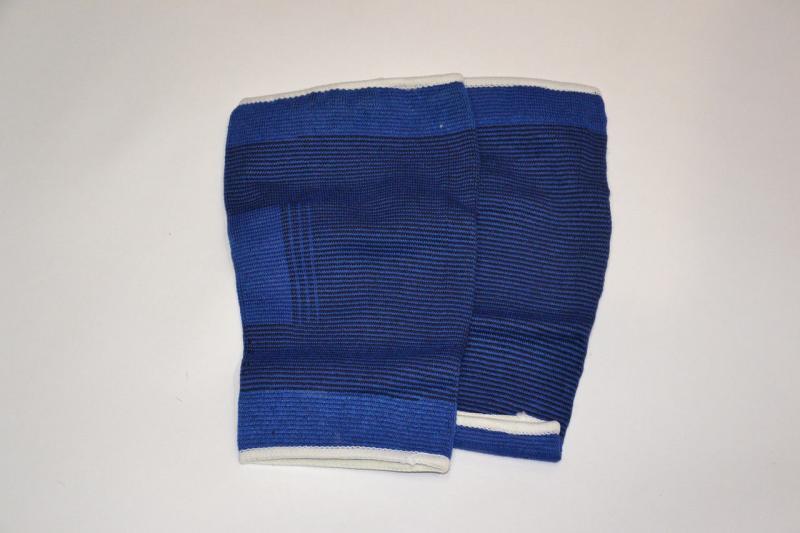 Наколенник эластичный (2шт) 906 (PL, эластан, р-р L, синий)