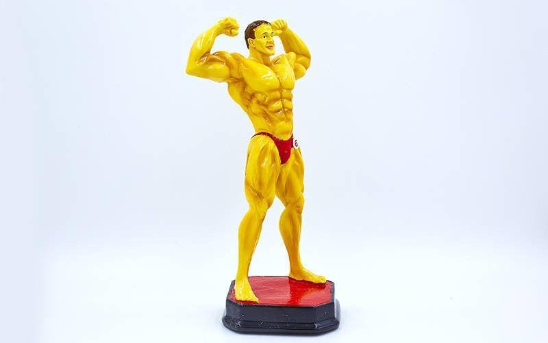 "Награда Статуэтка (фигурка) спортивная ""Бодибилдер"""