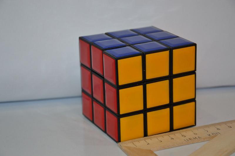 "Кубик-руби .""KUB""3*3.Размер 7x7"