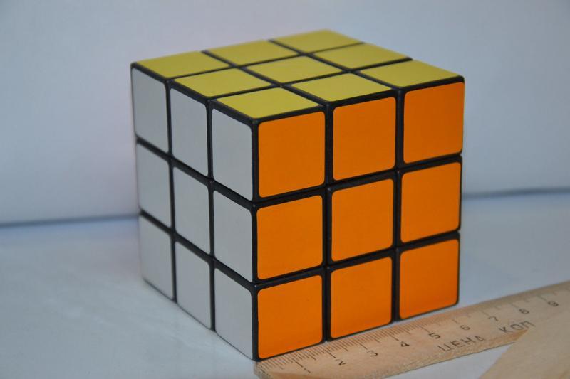 "Кубик-руби .""KUB""3*3.Размер 6.5x6.5"