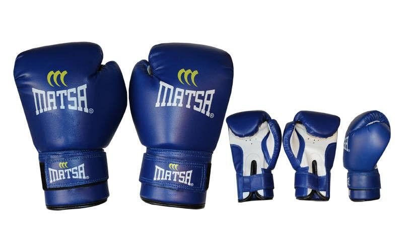 """Перчатки боксерские """"MATSA"""" 6 oz"""