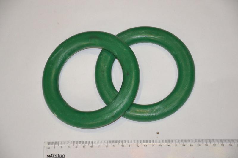 Кольца гимнастические детские (пластик) (Украина)